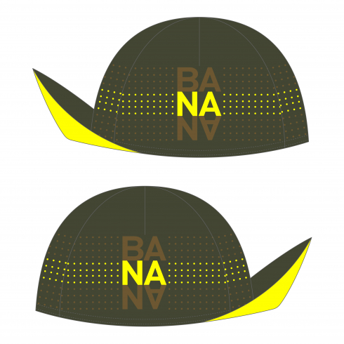 Big Banana Chocolate ACCESSOIRES UNISEX CYCLING CYCLING CAP CLASSIC