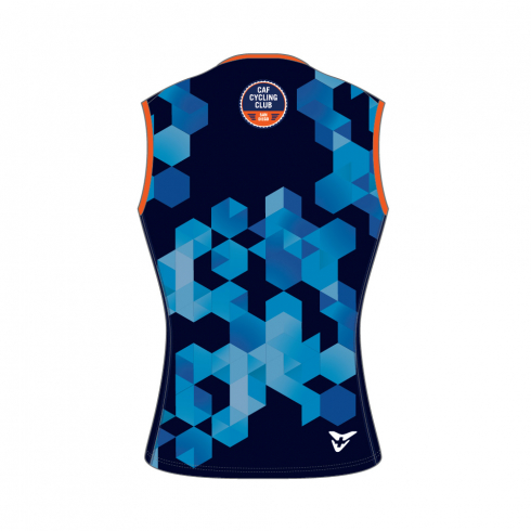 CAF CYCLING CLUB 20 ACCESSOIRES MEN CYCLING SLEEVELESS FP VENT MESH BASELAYER DARK BLUE