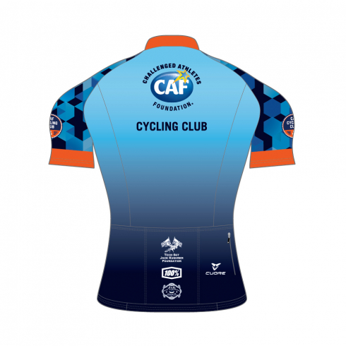 Challange Athlete Foundation SILVER MEN CYCLING S/SLEEVE RACE JERSEY