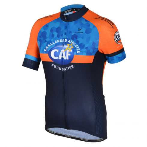 CAF CYCLING CLUB BRONZE WOMEN CYCLING S/SLEEVE SPORT VENT JERSEY - NORCAL