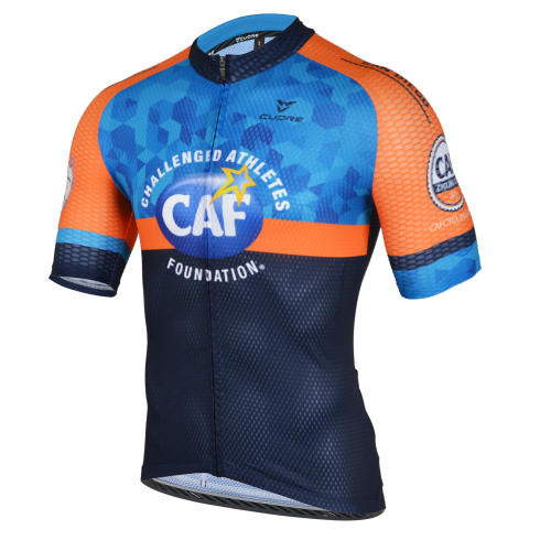 CAF CYCLING CLUB SILVER MEN CYCLING S/SLEEVE RACE JERSEY - NORCAL