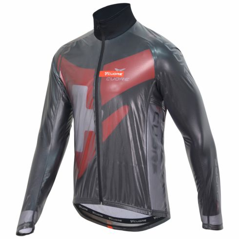 GOLD MEN CYCLING CLEAR JACKET