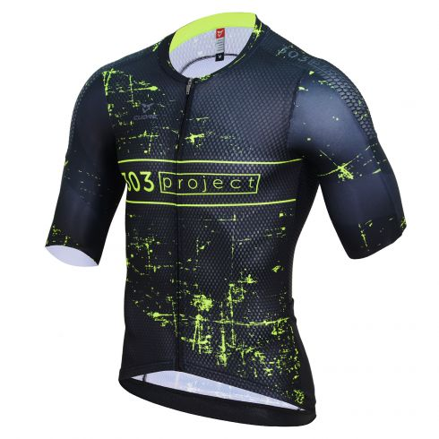 GOLD MEN CYCLING S/SLEEVE COMP JERSEY