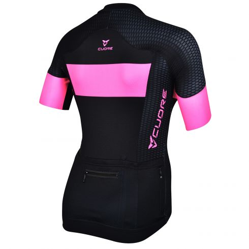 GOLD WOMEN CYCLING S/SLEEVE COMP JERSEY