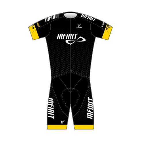 GOLD MEN TRIATHLON TRI SUIT TWO IN ONE