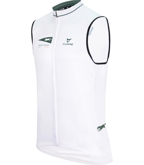 La Chance SILVER MEN CYCLING WIND SHIELD SPLASH VEST