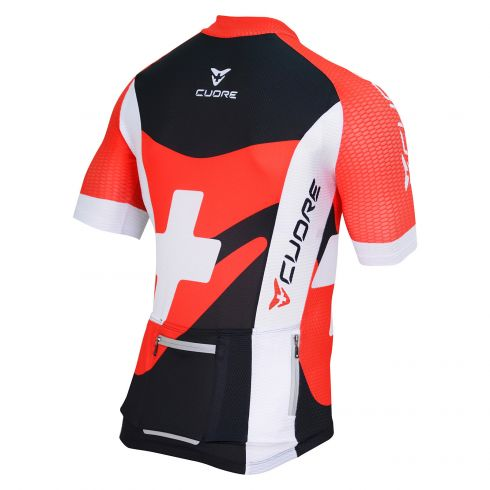 SILVER KIDS CYCLING S/SLEEVE RACE JERSEY