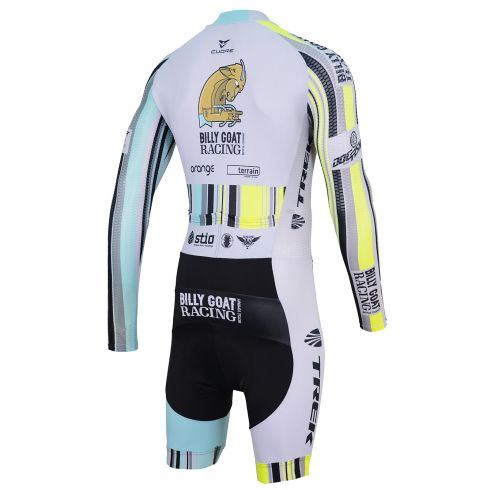 SILVER MEN CYCLING L/SLEEVE THERMAL SUIT