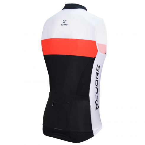 SILVER WOMEN CYCLING WIND SHIELD SPLASH VEST w/POCKETS