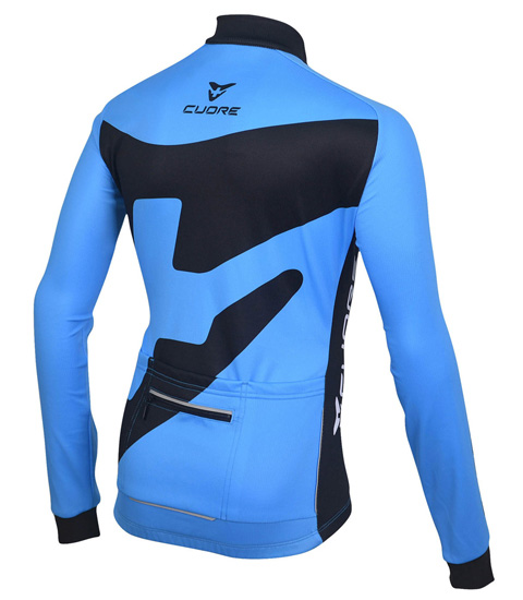 BRONZE KIDS CYCLING L/SLEEVE THERMAL JERSEY