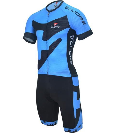 BRONZE KIDS CYCLING S/SLEEVE TWO IN ONE SUIT