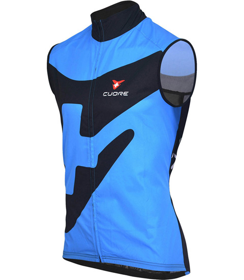 BRONZE KIDS CYCLING WIND SHIELD MESH VEST