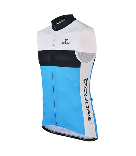 BRONZE MEN CYCLING SLEEVELESS SPORT VENT JERSEY