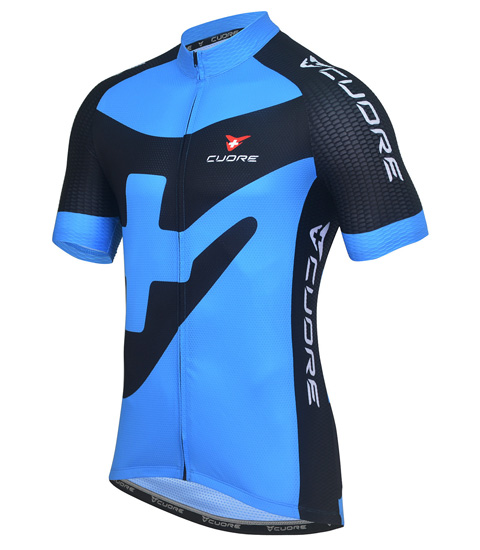 BRONZE MEN CYCLING S/SLEEVE SPORT VENT JERSEY
