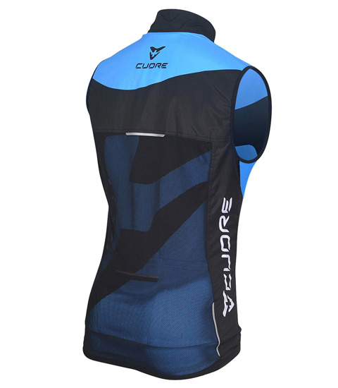BRONZE MEN CYCLING WIND SHIELD MESH VEST