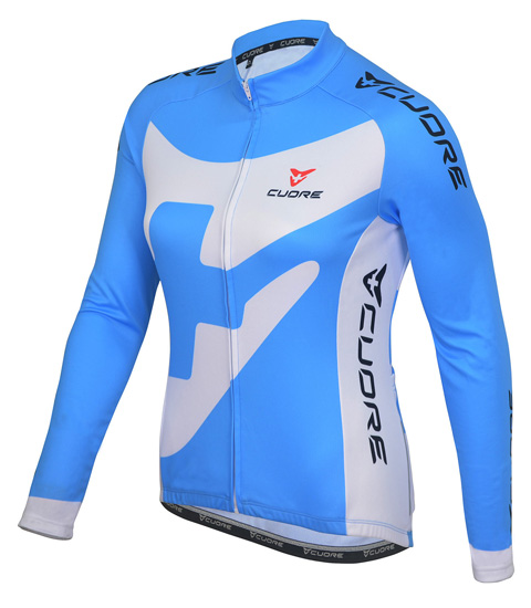 BRONZE WOMEN CYCLING L/SLEEVE THERMAL JERSEY
