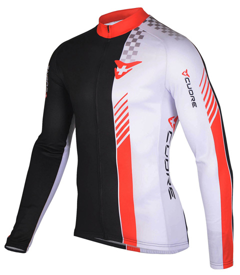 FINISHER MEN CYCLING L/SLEEVE JERSEY