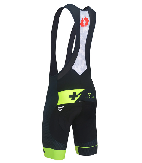GOLD MEN CYCLING BIB SHORT