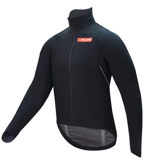 GOLD MEN CYCLING ELEMENT SHIELD JACKET