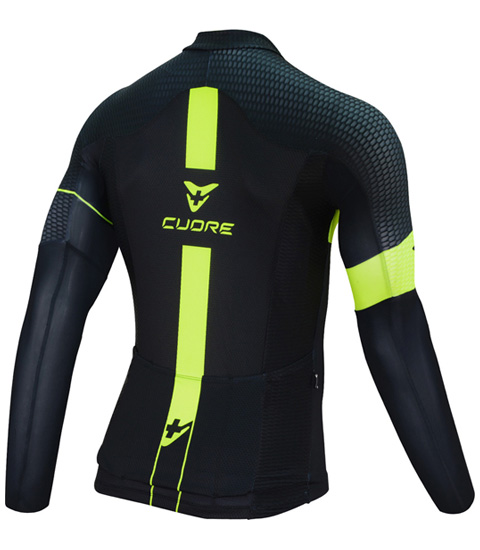 GOLD MEN CYCLING L/SLEEVE ORIGINAL JERSEY
