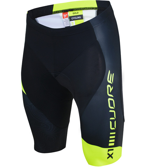 GOLD MEN CYCLING SHORT X1