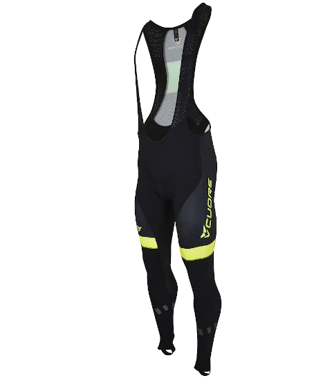 GOLD MEN CYCLING SOFT SHELL BIB TIGHT