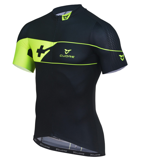GOLD MEN CYCLING S/SLEEVE JERSEY