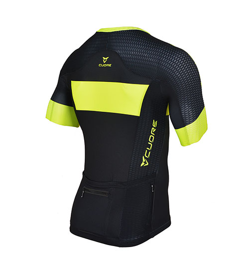 GOLD MEN CYCLING S/SLEEVE RACE JERSEY