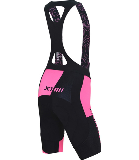GOLD WOMEN CYCLING BIB SHORT X1