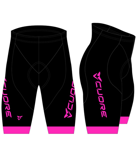 GOLD WOMEN CYCLING BIB SHORT