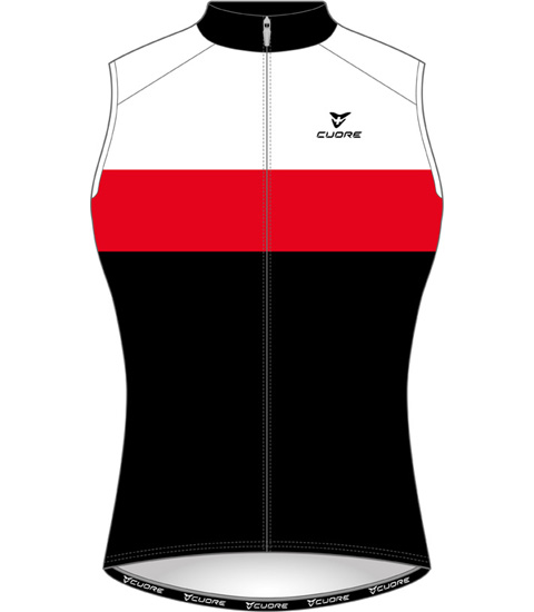SILVER MEN CYCLING ACTIVE SHIELD VEST