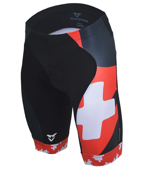 SILVER MEN CYCLING SHORT