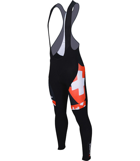 SILVER MEN CYCLING THERMAL BIB TIGHT