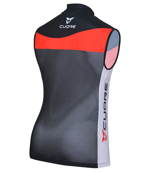 SILVER MEN CYCLING WIND SHIELD MESH VEST