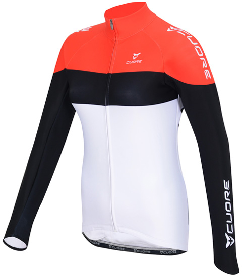 SILVER WOMEN CYCLING L/SLEEVE ACTIVE SHIELD JERSEY