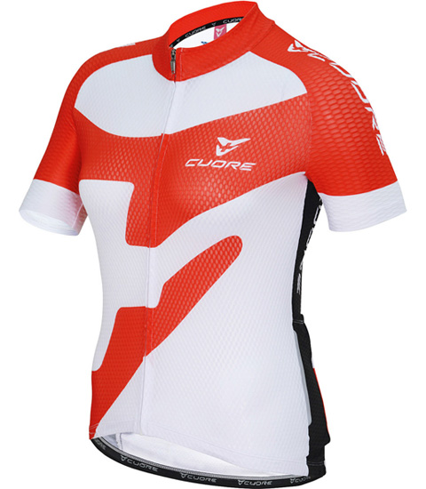 SILVER WOMEN CYCLING S/SLEEVE RACE JERSEY