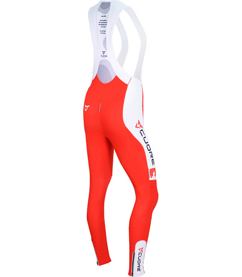 SILVER WOMEN CYCLING THERMAL BIB TIGHT