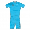 GOLD MEN TRIATHLON S/SLEEVE TWO IN ONE TRI CUSTOM SUIT BLUE