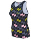 SILVER WOMEN TRIATHLON TRI RACE TOP