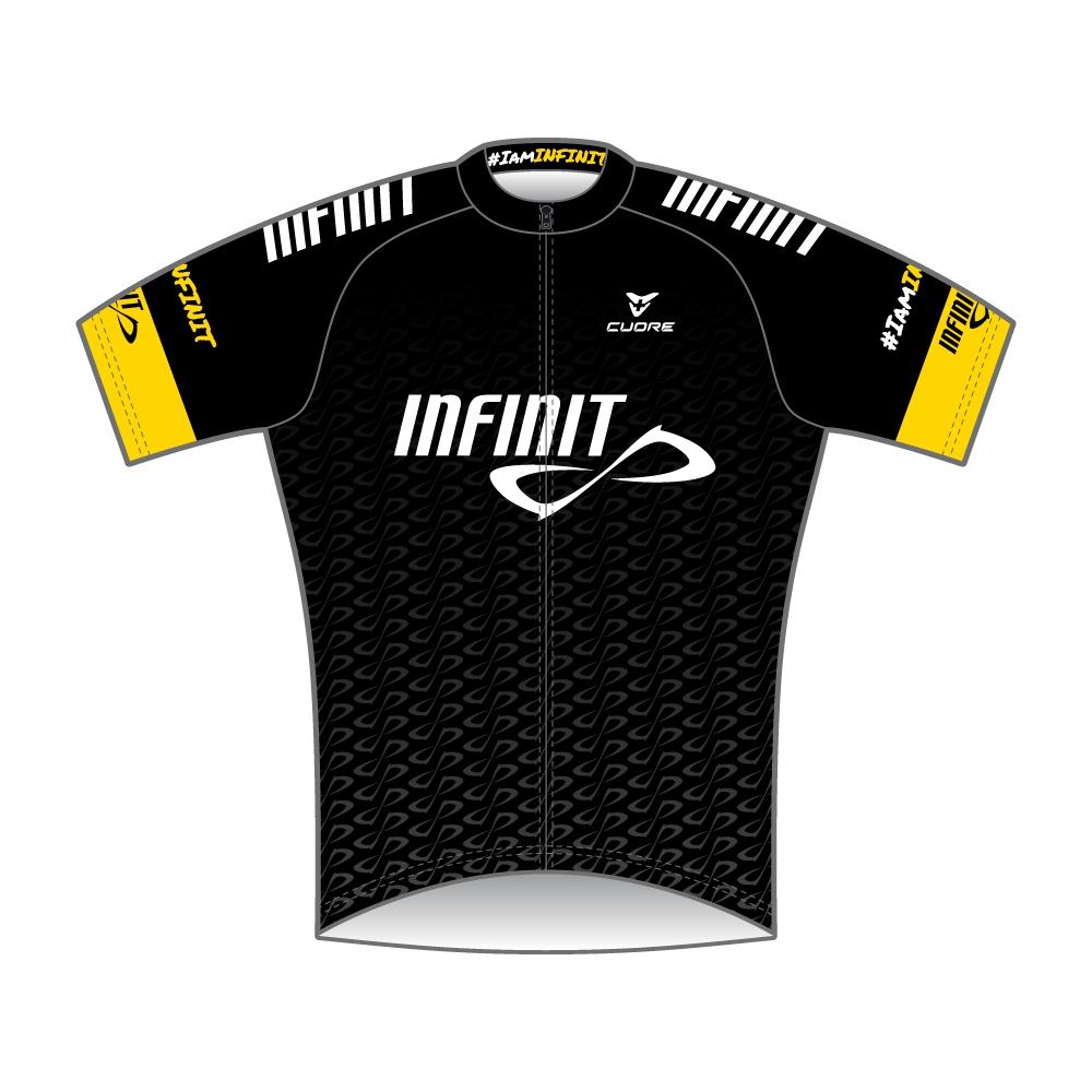 infinit nutrition silver women cycling s sleeve race jersey black a730bdd41