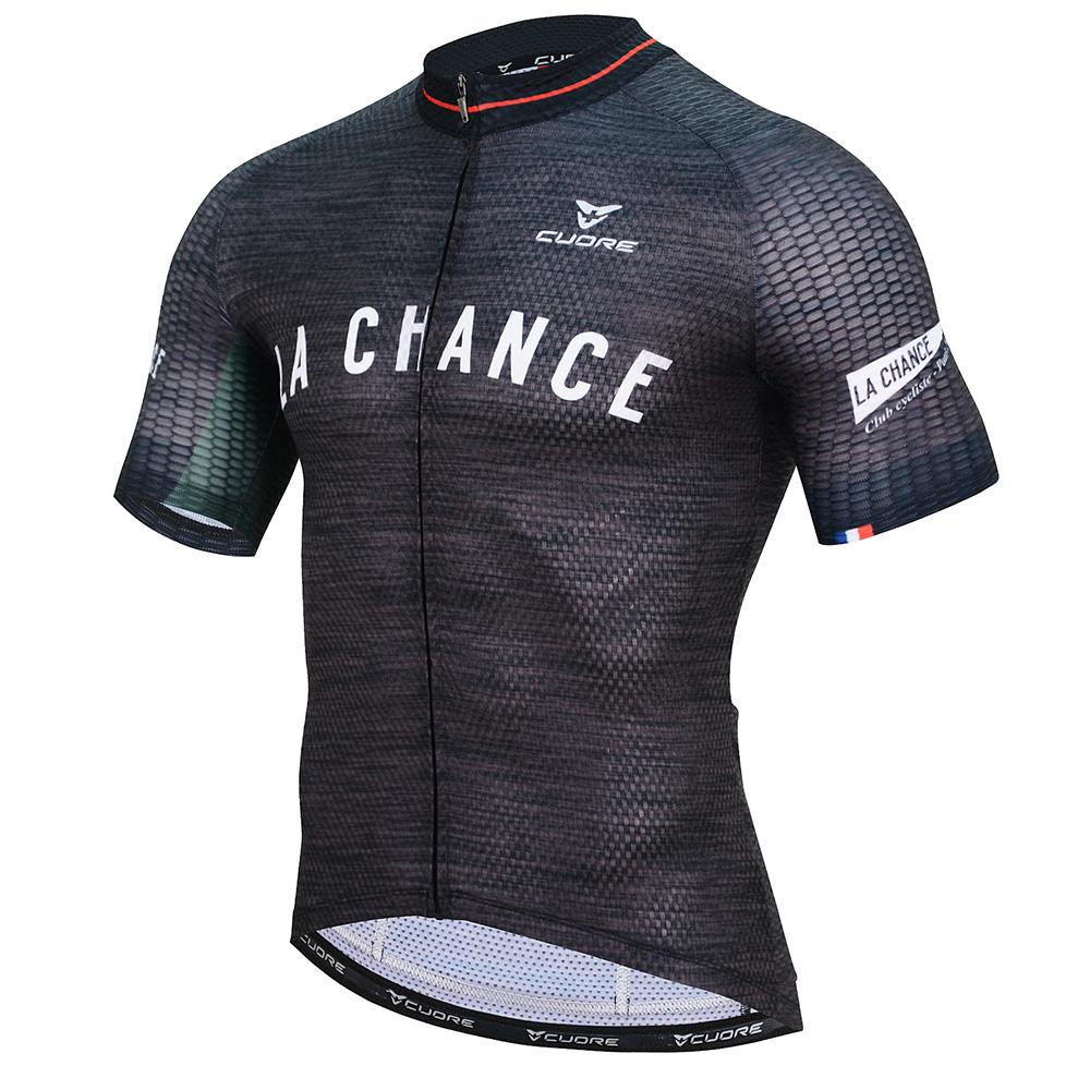 La Chance SILVER MEN CYCLING S SLEEVE RACE JERSEY b8b9504a5