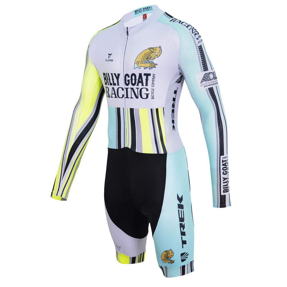 SILVER WOMEN CYCLING L SLEEVE SUMMER SUIT - CUORE of ... f72a67c6c
