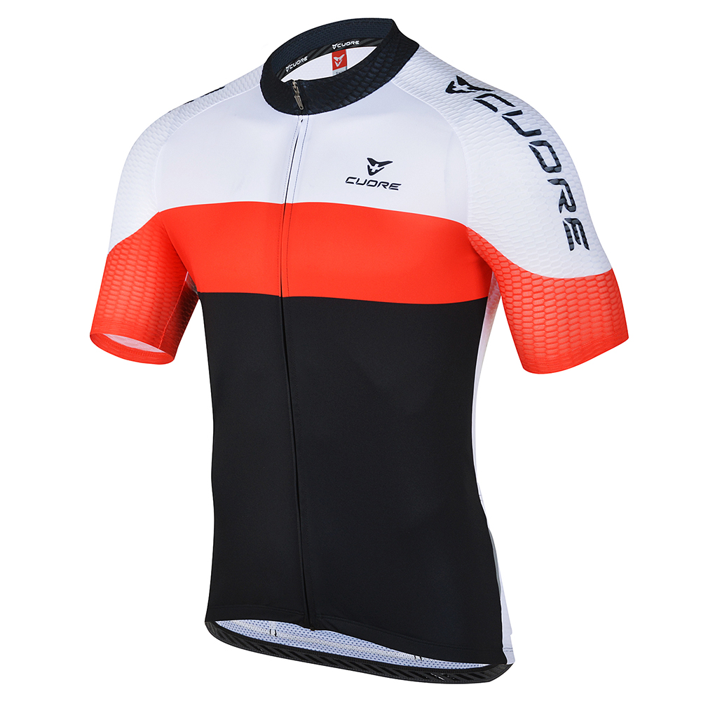 SILVER MEN CYCLING S SLEEVE ORIGINAL JERSEY - CUORE of ... d032027a2