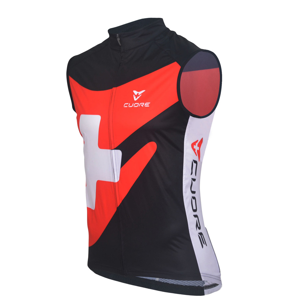 bbc8daabae0 SILVER MEN CYCLING WIND SHIELD MESH VEST - CUORE of ...