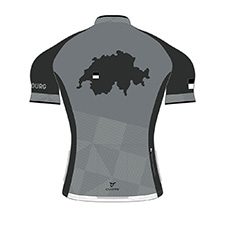 FRIBOURG BRONZE MEN CYCLING S/SLEEVE SPORT JERSEY