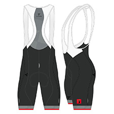 GLARUS SILVER MEN CYCLING BIB SHORT