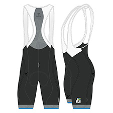 GRAUBÜNDEN SILVER MEN CYCLING BIB SHORT