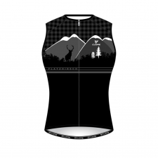 BRONZE WOMEN CYCLING SLEEVELESS SPORT VENT JERSEY