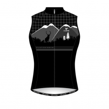 SILVER MEN CYCLING WIND SHIELD SPLASH VEST