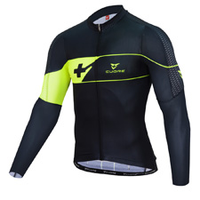 GOLD MEN CYCLING L/SLEEVE JERSEY